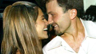 """Photo of """"Creo que Dios te hizo para mí"""", esto le cantó Jennifer López a Ben Affleck en """"Dear Ben"""""""