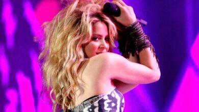 Photo of Ya no hay quién baje a Shakira, de 44 años, de su patineta