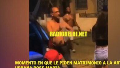 Photo of Video | Momento en que le piden matrimonio a la artista urbana Ross María