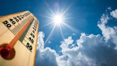 Photo of Se registrarán temperaturas calurosas este miércoles