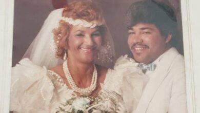 Photo of Fefita recuerda su boda en 1988