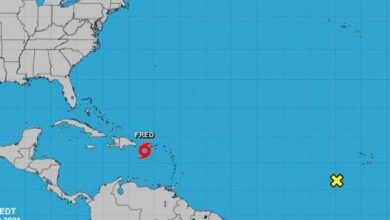 Photo of Tormenta Fred impactaría la República Dominicana con fuertes lluvias y vientos